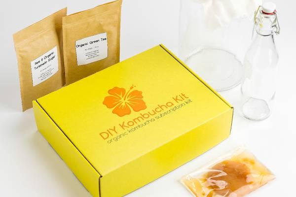 diy kombucha kit subscription box office gift ideas