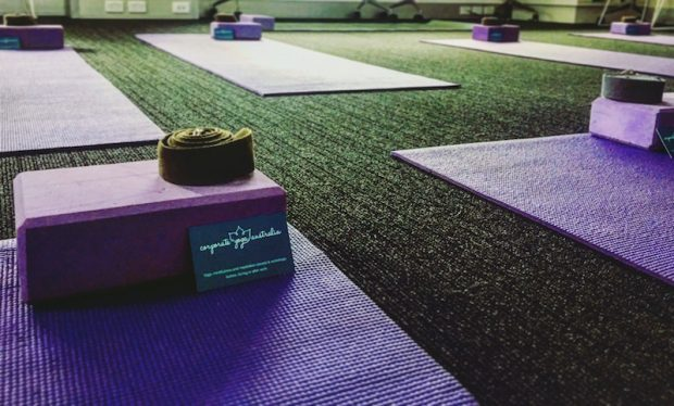 corporate health and wellness initiatives in the workplace yoga stretch sessions