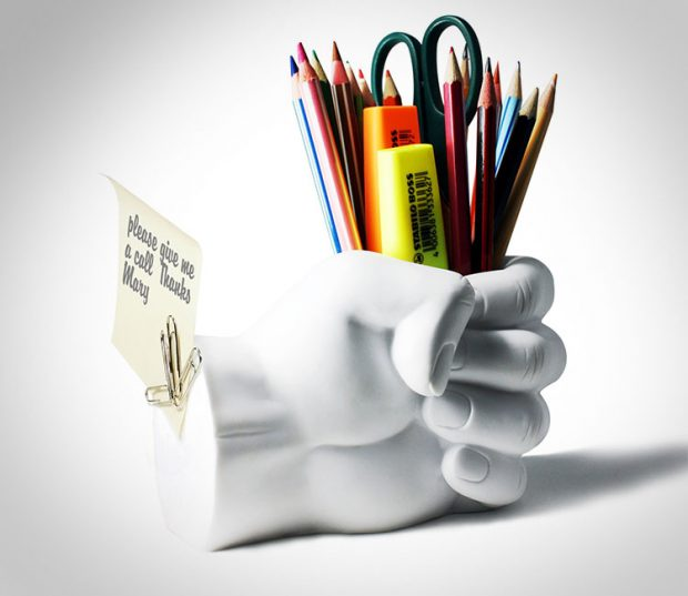 fist-pen-holder-with-paper-clip-magnet-office-gift-ideas