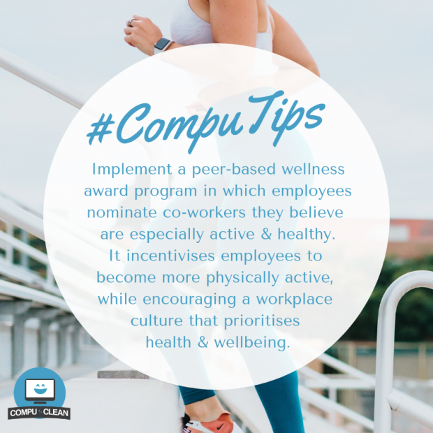 workplace wellness tips office health wellbeing