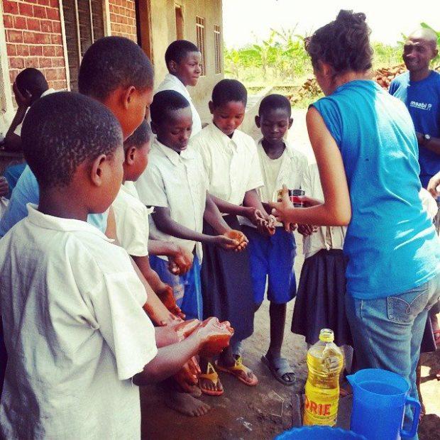 msabi tanzania hand washing hygiene course b1g1 giving impacts compuclean